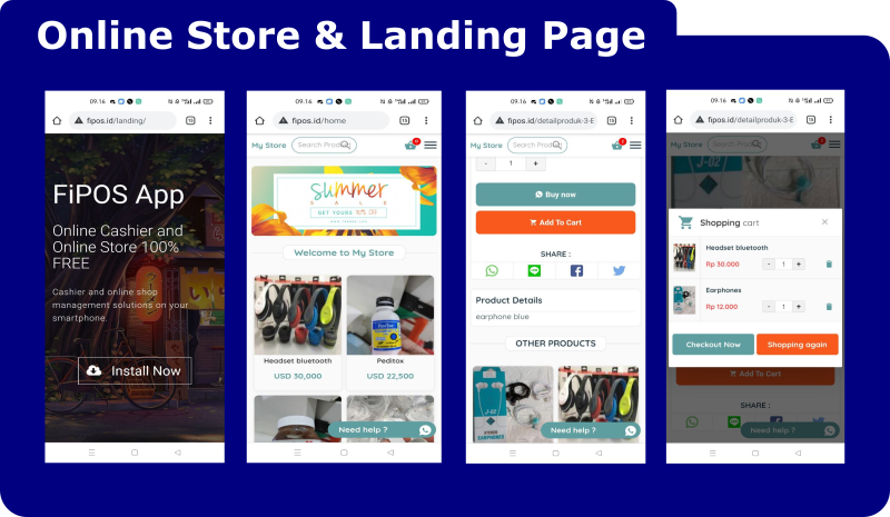 Ultimate Point Of Sales (POS) complete package, Android and Online Store with rest api php mysql - 7